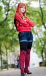 Asuka Langley Soryu - Streetstyle - NGE