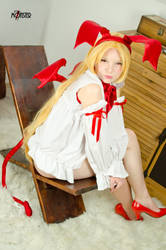 Flonne - Disgaea 2 - [(Not) a bunny!] by GeniMonster