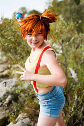 Misty - Pokemon - [Fight] by GeniMonster