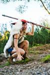 San - Princess Mononoke - [Hunt] by GeniMonster