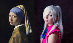Cosplay//Art - Elizabeth x Vermeer