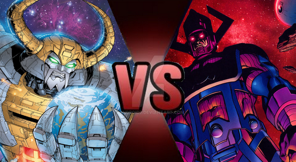 Galactus Vs Superman Prime