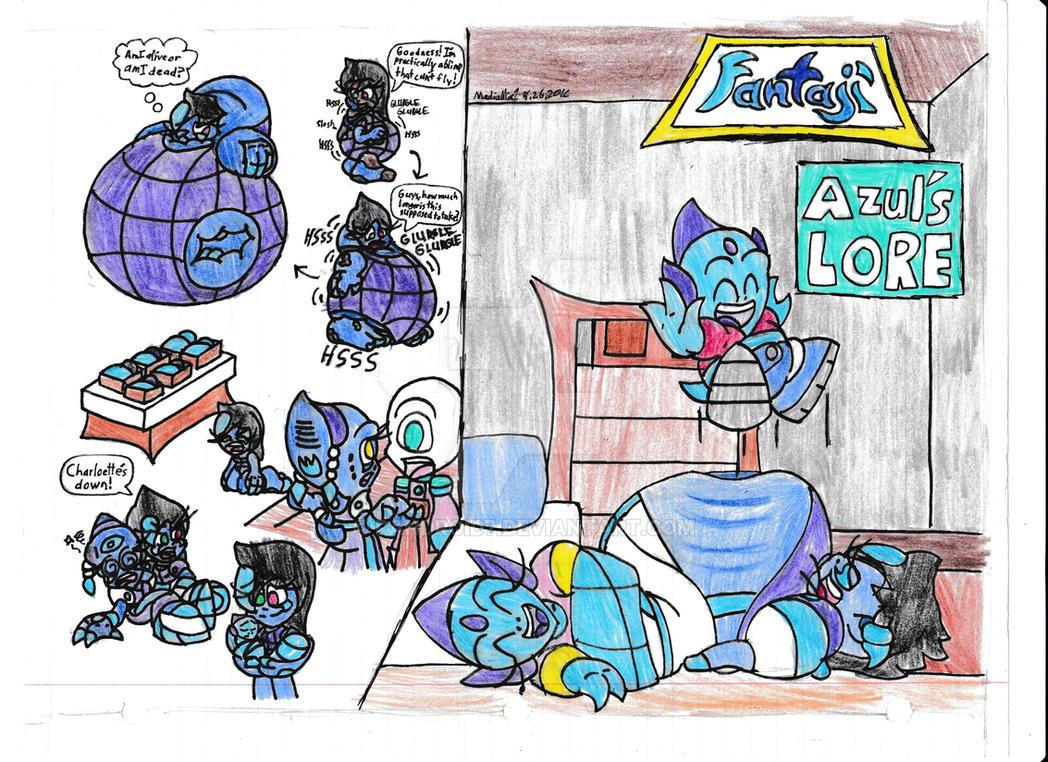 Fantaji - Azul's LORE by Randroid7