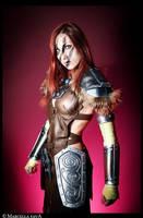 Aela The Huntress - Skyrim by BloodyLala