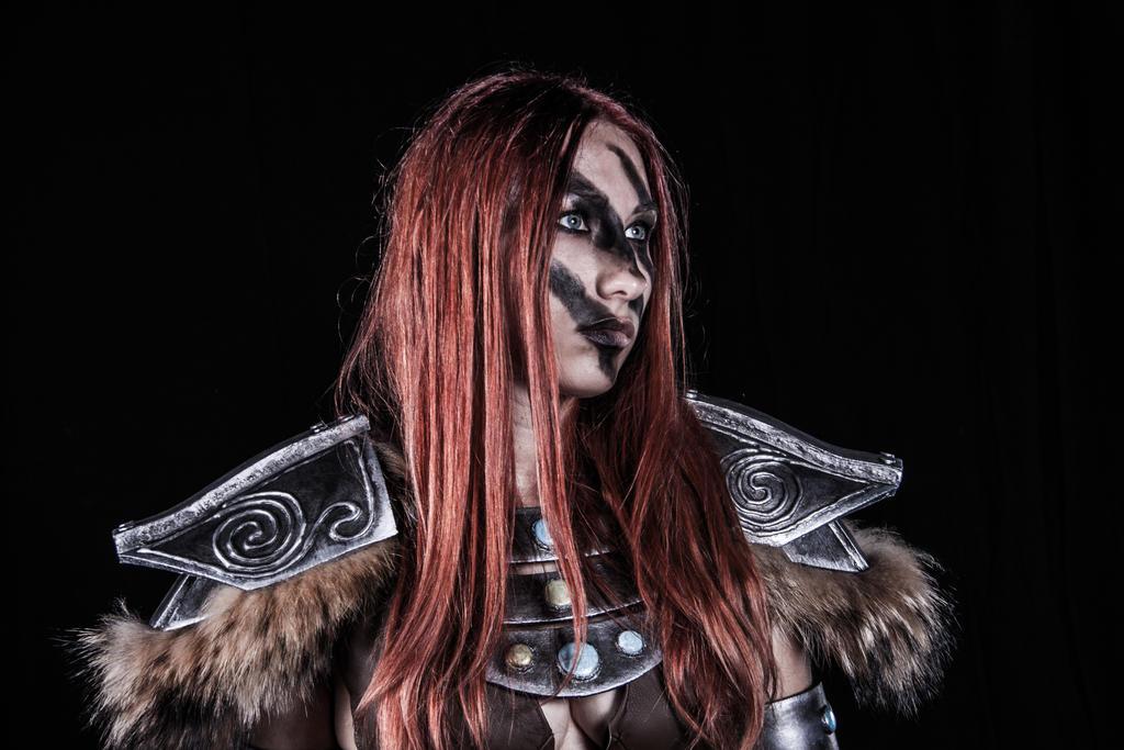 Aela - Skyrim by BloodyLala