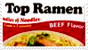 Top Ramen BEEF stamp by henrilucwolf