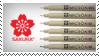 Sakura Pigma Micron Stamp by henrilucwolf