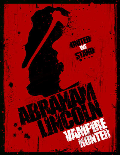 Abraham Lincoln Vampire Hunter Poster 1 by CmM359821