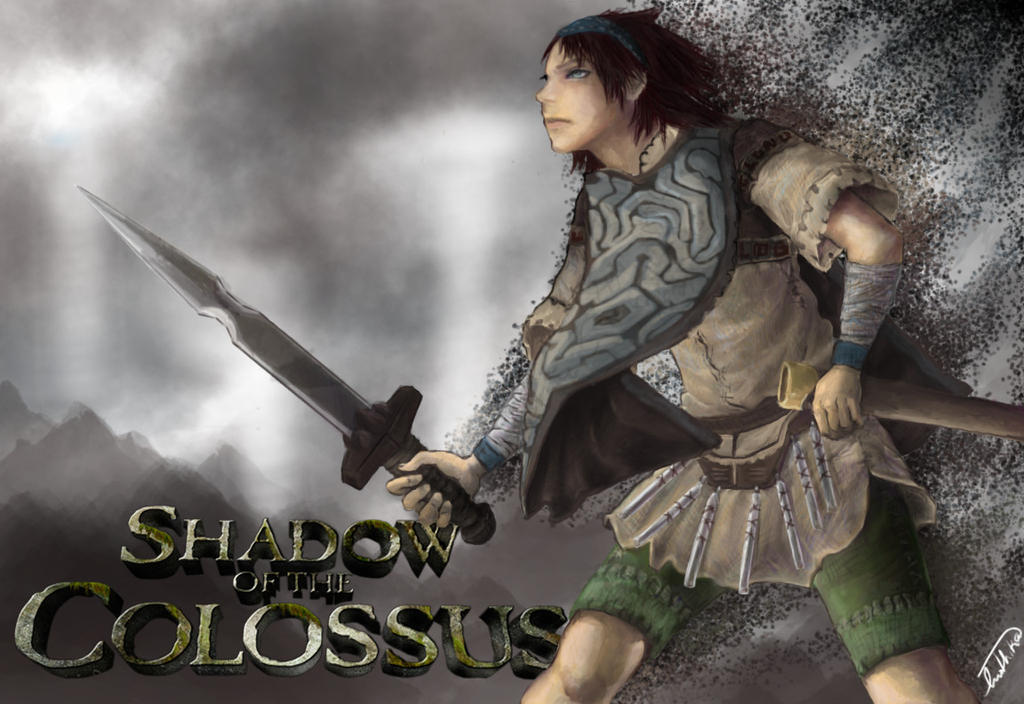The wander- Shadow of the colossus by SesameFruit on ...