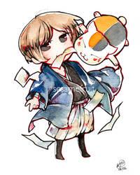 Natsume Yuujinchou Chibi by SesameFruit