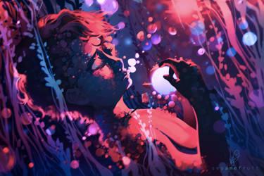 Daimen's Sleep by SesameFruit