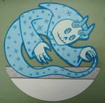 white vinyl ghost demon by matt136