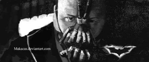 Bane Dark knight Rises by Makacas