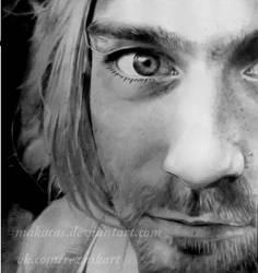 Kurt Cobain by Makacas
