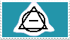 Theta Delta Stamp (Blue) by Omega-Wolf-Arts