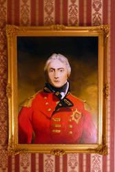 framed oil portrait John Moore