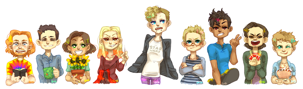 The Dork Squad by angelmermaid