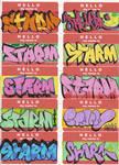 starm - stickers round 2