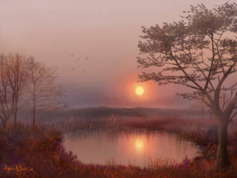 Hidden Pond by Sillybilly60