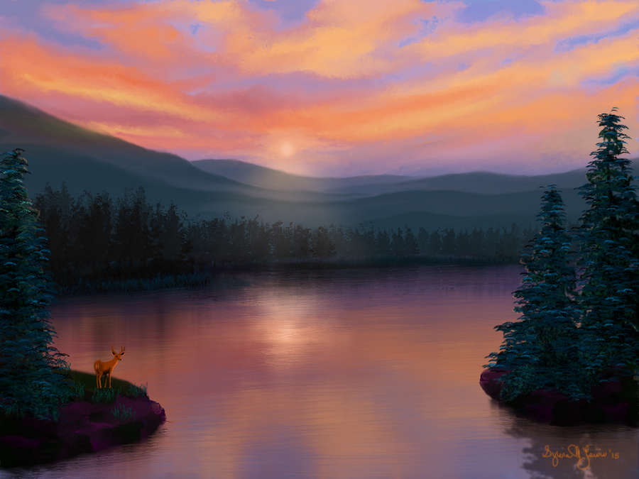 Pastel Sky by Sillybilly60