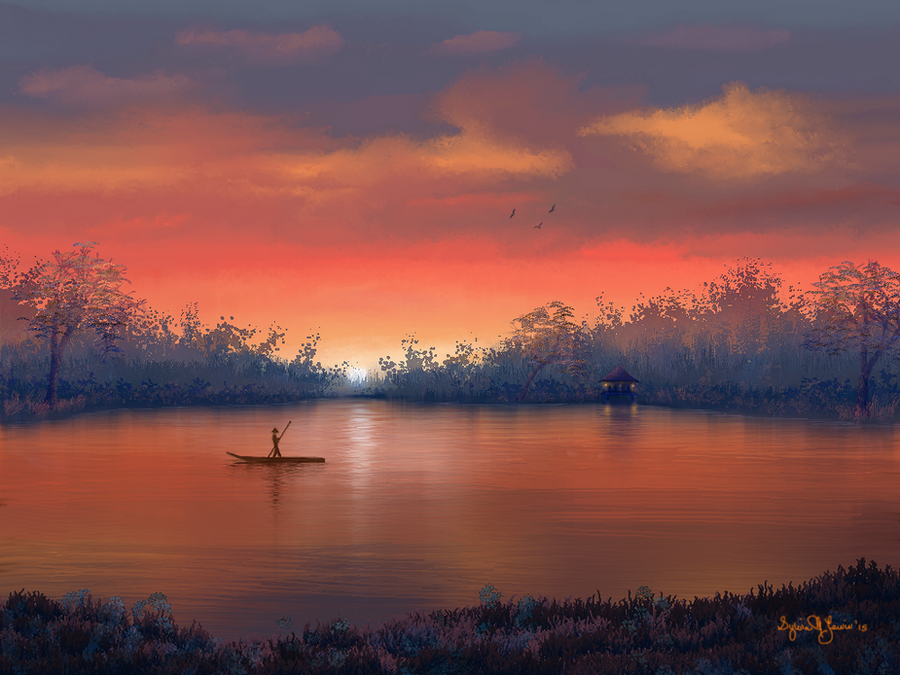 The River by Sillybilly60