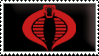 COBRA stamp black by SolomonMars