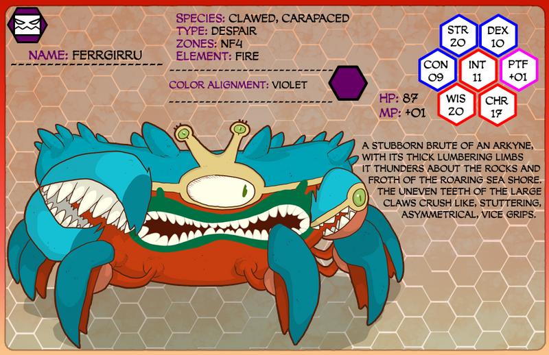 Monster of the week 017 by SolomonMars