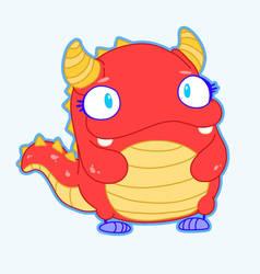 Kaiju Academy sticker Rewbii by SolomonMars