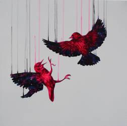 Starlings by LouiseMcNaught