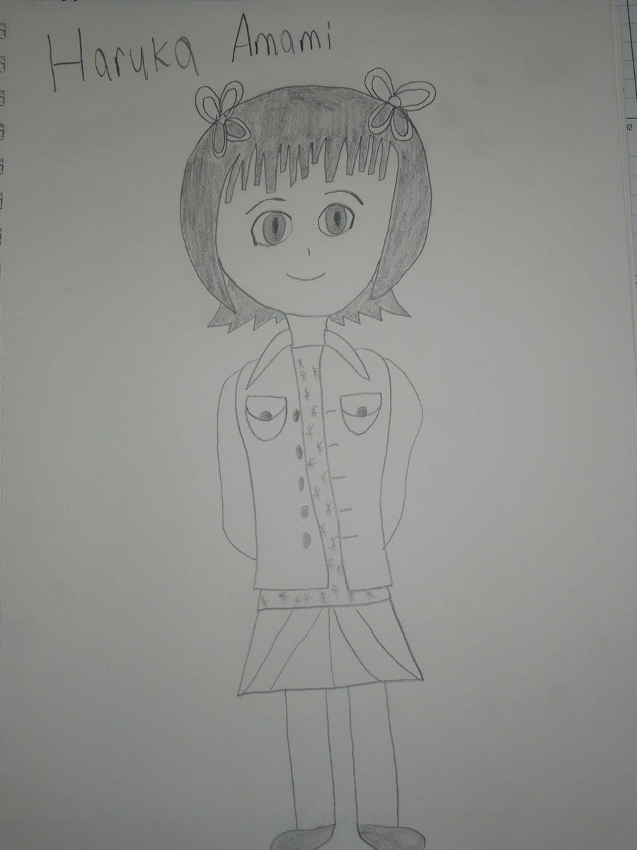 Haruka Amami by MidniteAndBeyond