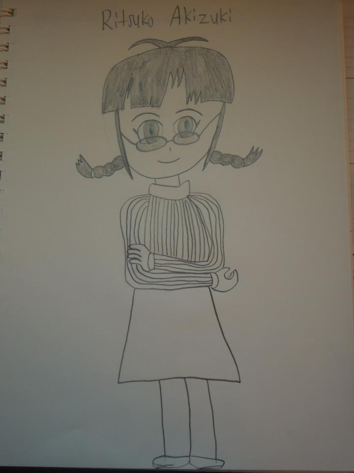 Ritsuko Akizuki by MidniteAndBeyond