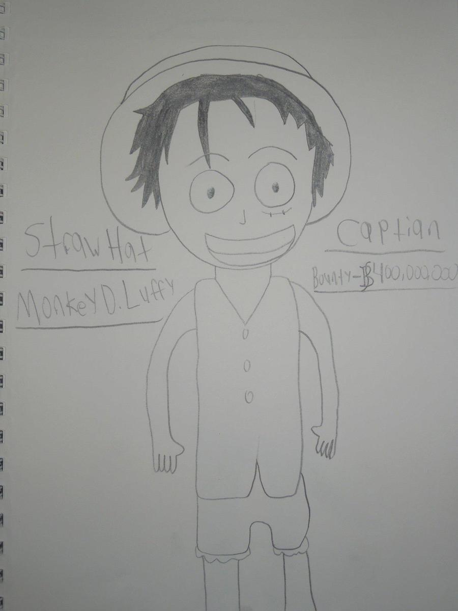 Monkey D. Luffy by MidniteAndBeyond