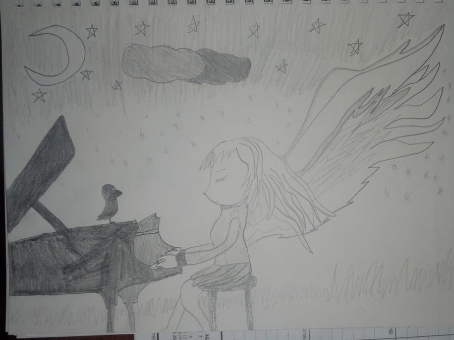 Angel Beats by MidniteAndBeyond