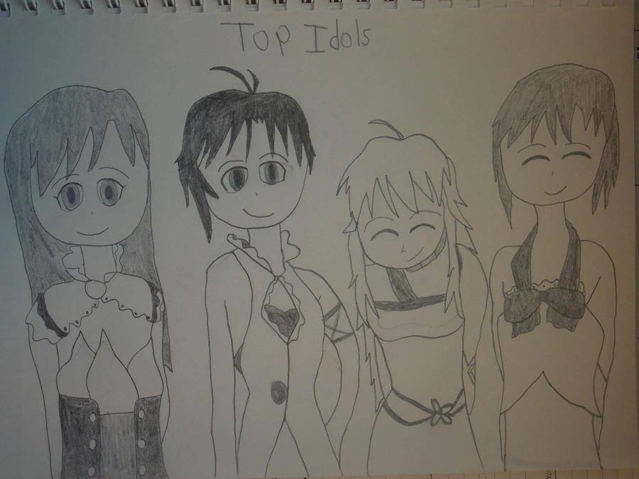 Top Idols by MidniteAndBeyond