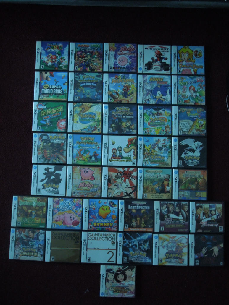 My DS Collection by MidniteAndBeyond