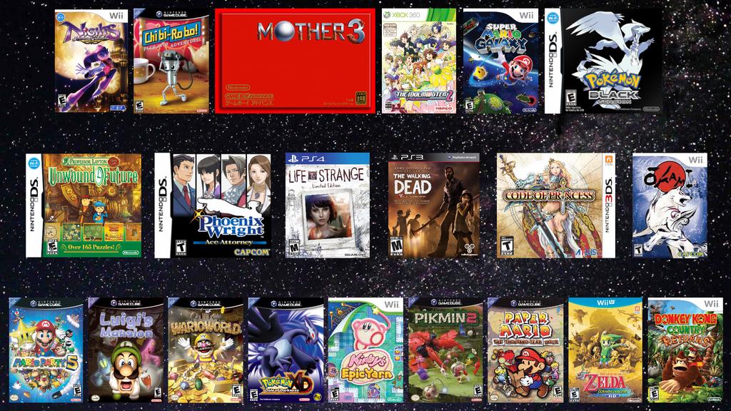 Favorite Games by MidniteAndBeyond