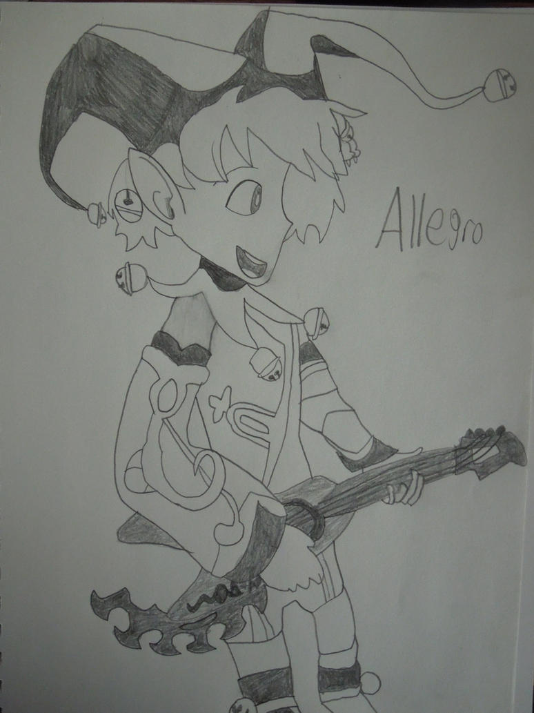 Code Of Princess: Allegro by MidniteAndBeyond