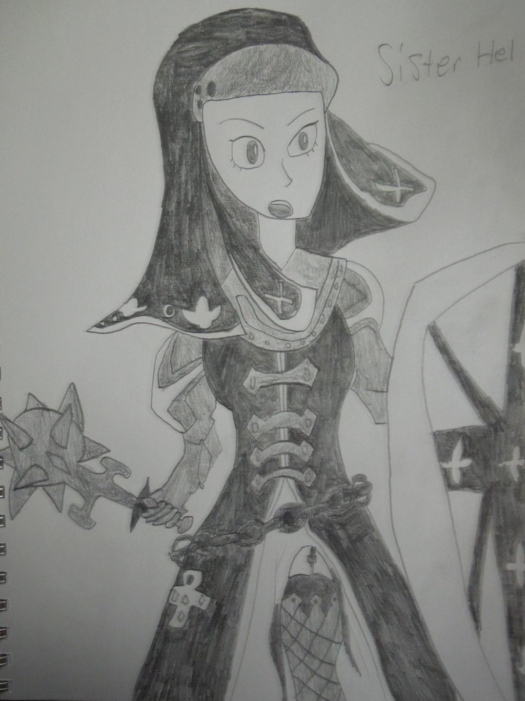 Code Of Princess: Sister Hel by MidniteAndBeyond