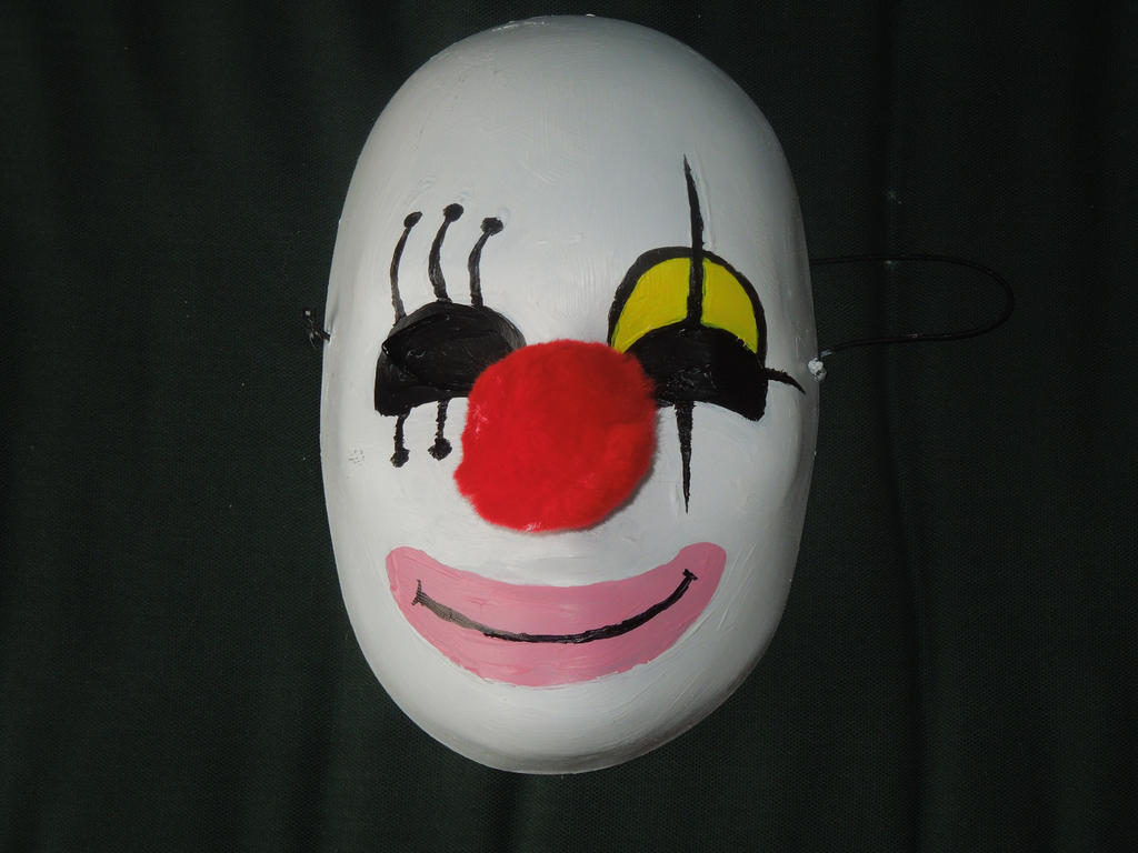 Karakuri Pierrot Mask by MidniteAndBeyond