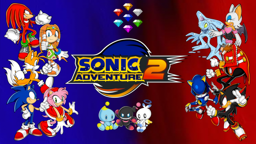 Sonic Adventure 2 Wallpaper by MidniteAndBeyond