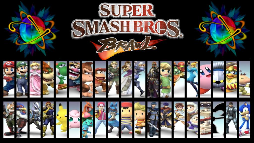 Super Smash Bros. Brawl Wallpaper by MidniteAndBeyond