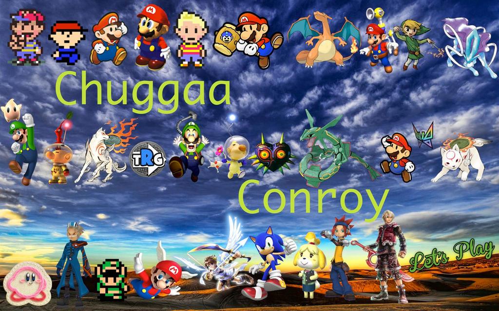 Chuggaaconroy Wallpaper by MidniteAndBeyond