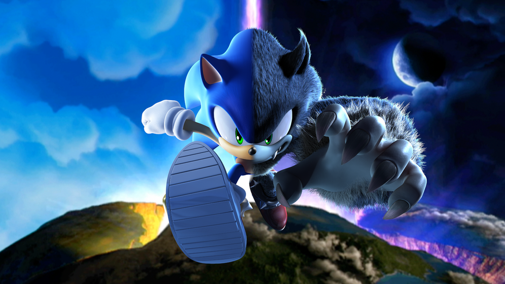 Sonic Unleashed Wallpaper by MidniteAndBeyond