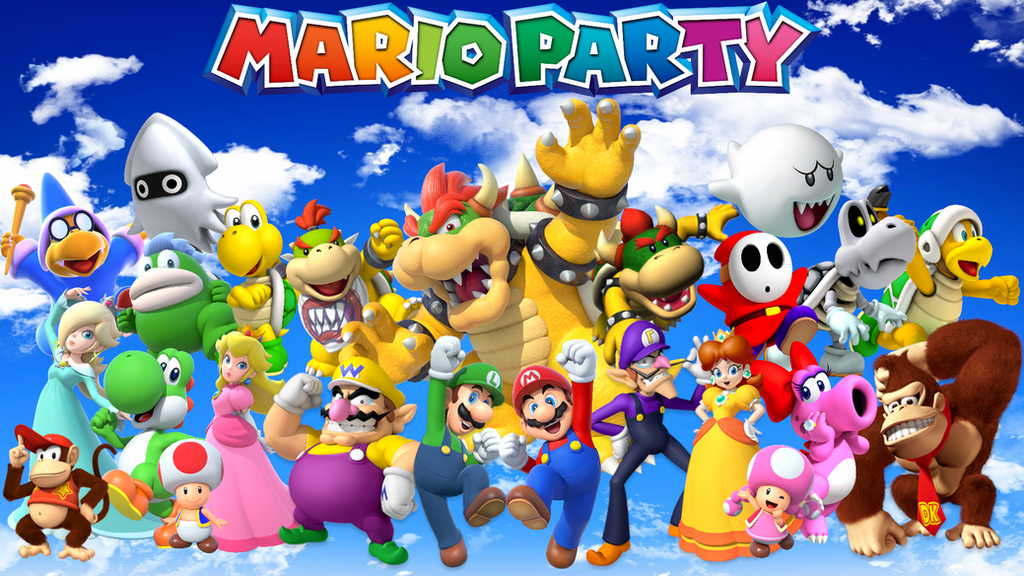Mario Party Wallpaper by MidniteAndBeyond on DeviantArt