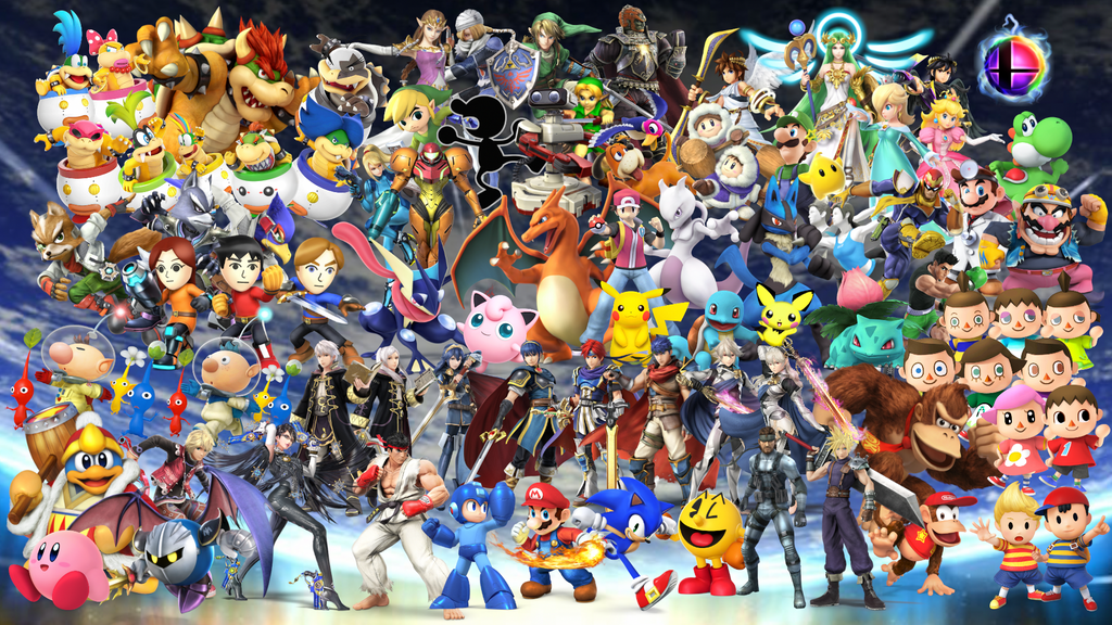 Smash Bros Wallpaper