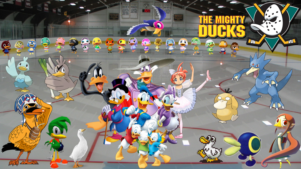 The Mighty Ducks??? Wallpaper by MidniteAndBeyond