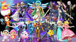 Super Smash Sisters Wallpaper
