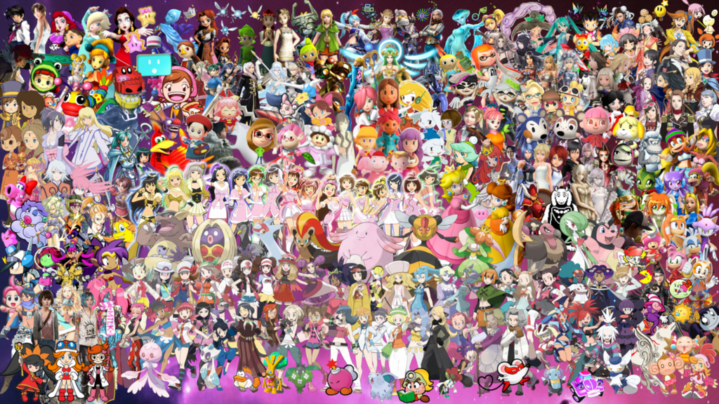 Gaming's Greatest Heroines by MidniteAndBeyond