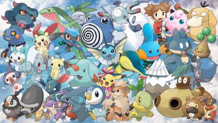 Pokemon Dimensions Wallpaper by MidniteAndBeyond