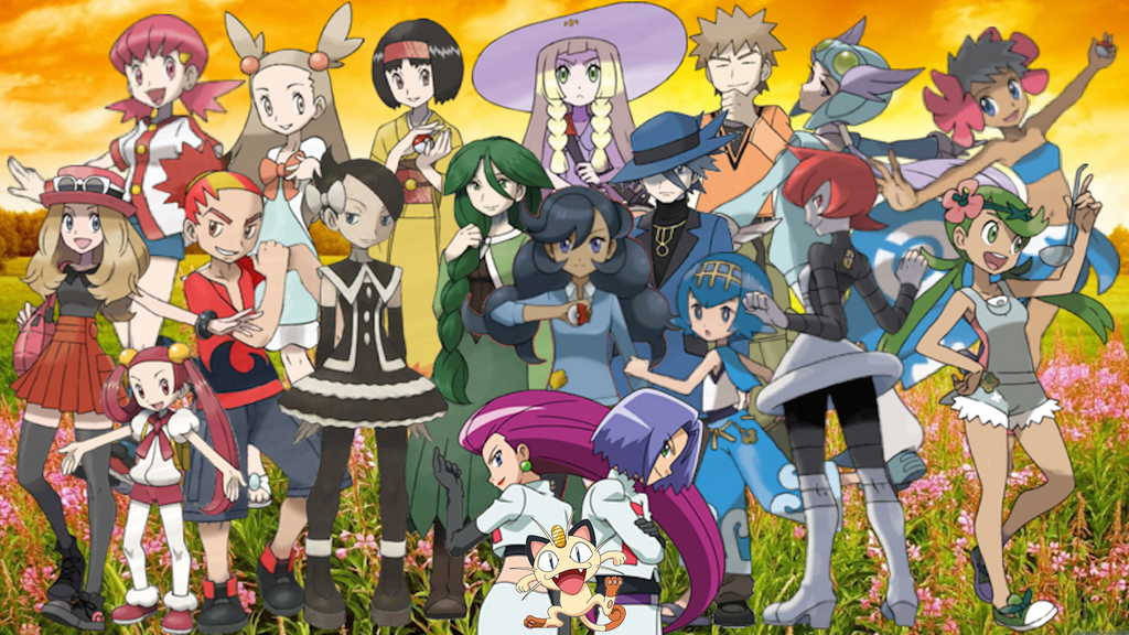 Pokemon Friends Wallpaper by MidniteAndBeyond